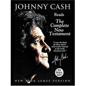 Johnny Cash: Reads The Complete New Testament [Audiobook] [Unabridged]