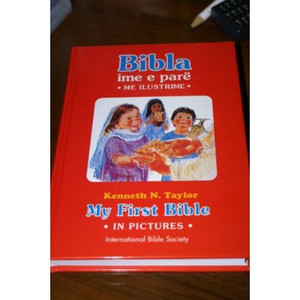 Albanian Children's Bible - Bibla Ime E Pare - My First Bible in Pictures