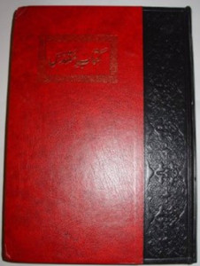 Large Urdu Study Bible / HUGE A4 size Bible / Printed and Published by Pakist...