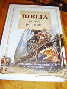 Large Romanian Children's Bible / Biblia Povestiri Pentru Copii