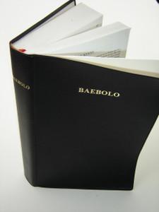 Bible in Nzema Language / A new translation CL052P / BAEBOLO Anzee Buluku Nwuanzanwuanza