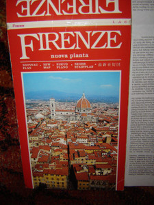 Florence City Map (Firenze) 1:9,000 (Italian Edition)