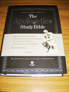 The Apologetics Study Bible / Understanding Why You Believe / Christian Standard Study Bible