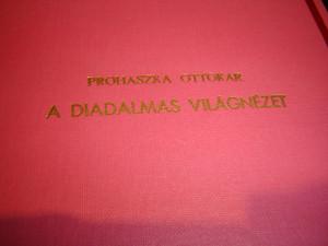 A Diadalmas Világnézet: Prohaszka Ottokar / Historic 1927 Print on World View by Prohaszka Ottokar Hungarian Priest