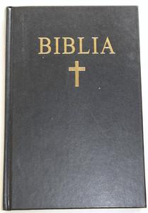 Romanian Black Hardcover Bible / Biblia sau Sfanta Scriptura Cu Trimiteri