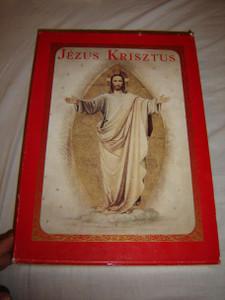 Didon Atya JEZUS KRISZTUS díszes magyar kiadás 20 rézmetszettel, 45 autotypiával / Originally printed in 1896 and this is the 1991 Huge REPRINT Limited Edition Nr.3847 / Padre Didon