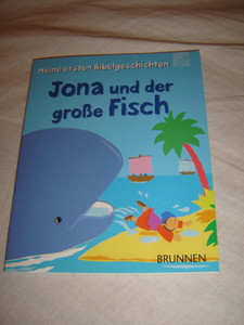 Jonah and the Whale / Bible Stories for Children in the German Language