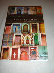 German New Testament and Psalms / Hope for All DOORS / Das Neue Testament und die Psalmen