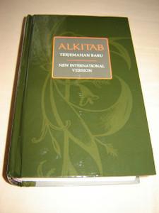 Indonesian - English Bilingual Bible / Indonesian Formal Translation - English NIV /  ALKITAB Terjemahan Baru ALK. TB/NIV 053 / Beautiful Dark Green Hardcover, Thumb Indexed