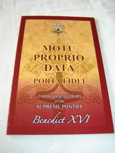 MUTO PROPRIO DATA / PORTA FIDEI / Apostolic Letter in English Language