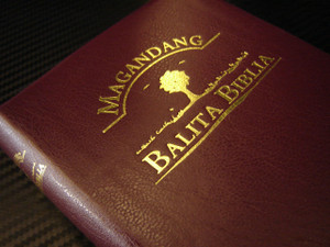 Tagalog BURGUNDY Bible Popular Version / Magandang Balita Biblia TVP 035 G.E.