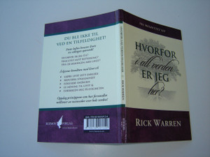 Norwegian Language Edition: What on Earth Am I here for? by Rick Warren