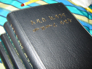 Amharic New Testament With Psalms [Paperback] by American Bible Society