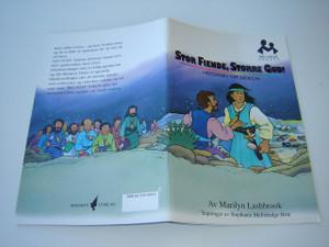 Norwegian Children's Bible Story / Stor Fiende, Storre Gud! Historien Om Gideon