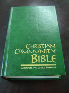 Christian Community Bible GREEN LARGE / Catholic Pastoral Edition