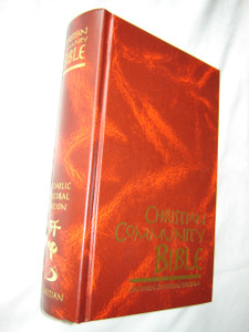 Christian Community Bible BURGUNDY / Catholic Pastoral Edition Claretian
