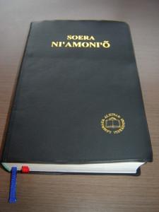 Nias Language Bible / SOERA NI'AMONI'O / Formal Translation Alkitab 062TI Nias