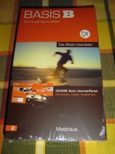 German Interactive Bible MATTHAUS / Basis B Grund genug zu leben / Bie Bibel interaktiv