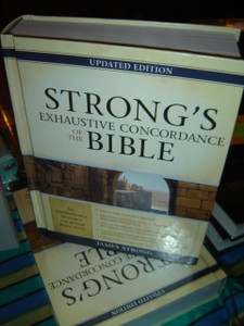 Strong's Exhaustive Concordance of the Bible (Facets)[Hardcover]