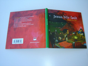 Norwegian Children's Bible Story Book Of The Birth of Jesus / Jesus blir fodt