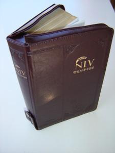 The Korean - English Bilingual STUDY BIBLE / NIV-NKRV with NIV Audio CD