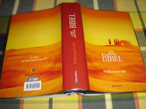 German Bible with Four Swappable Beautiful Covers / Hoffnun fur alle Die Bibel - die unsere Sprache spricht