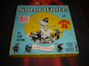 8 MM Home Movies / SNOW WHITE The Apple / All live Action 1965 Columbia Pictures presents A Childhood Production