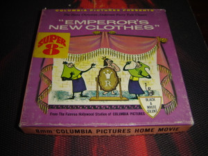 8 MM Home Movies / The Emperor's New Clothes, The Hans Christian Andersen Fairy Tale Classic / 1965 Columbia Pictures Presents