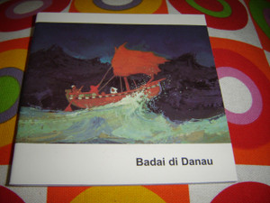 Christian Children's Bible Story Booklet in Indonesian Language / Jesus Calms the Storm / Badai Di Danau