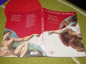 Italian Biblical Art Bible / La Sacra Bibbia Luoghi e storie del Vecchio e del Nuovo Testamento / testi di Gianni Guadalupi