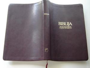 Lithuanian Bible with Column References / Biblija - Senasis Testamentas - Naujasis Testamentas