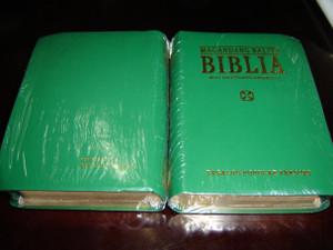 GREEN Tagalog Bible with Deuterocanonical Books / Magandang Balita Biblia / Tagalog Popular Version TPV