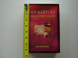 New Evidence That Demands a Verdict / ROMANIAN Language Edition by Josh McDowell