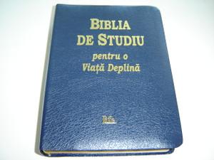 Biblia De Studiu pentru o Viata Deplina / The Full Life Study Bible in Romanian Language Edition / Versiunea D. Cornilescu