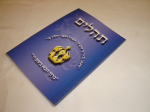 The Book of Psalms in Hebrew Language / All Messianic References printed with Red Letter MP540