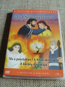 The Old Testament 6 / Three Episodes x 25 minutes / Az Otestamentum 6 / Il Vecchio Testamento / 1. Fire in the Wilderness 2. The Nile Turns to Blood 3. Night of the Lamb
