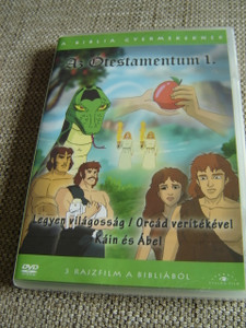 The Old Testament 1 / Three Episodes x 25 minutes / Az Otestamentum 1 / Il Vecchio Testamento / 1. Let There Be Light / 2.  With the Sweat of Your Brow / 3.  Cain and Abel