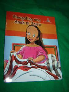Healing the Daughter of Jairus / TAGALOG - English Bilingual Children's Comic Strip Bible Book