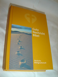 Footsteps in the Sand German Bible / Gute Nachricht Bibel