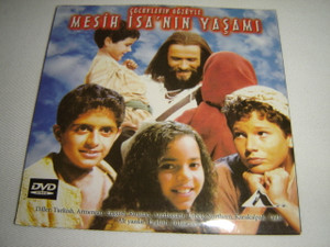 The Jesus Film For Children / Turkish Edition / Cocuklarin Gozuyle Mesih Isa'nin Yasami / Audio: Turkish, English, Russian, Armenian, Azerbaijani, Uzbek-Northern, Karakalpak, Tajik