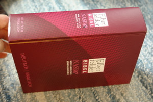German - English Bilingual  Elberfelder Bible / Elberfelder German - English NASB New American Standard Bible