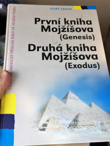 Czech Bible Portion Super Large Print / Genesis and Exodus / Prvni Kniha Mojzisova, Druha Kniha Mojzisova