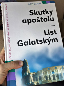 Czech Bible Portion Super Large Print / From Acts to Galatians / Skutky Apostolu, List Rimanum, 1 -2 List Korintskym, List Galatskym