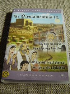 The Old Testament 12 / Four Episodes x 25 minutes / Az Otestamentum 12 / Il Vecchio Testamento / 1. A Nation's Return 2. One Nation, One Temple 3. Thousands of Scrolls 4. The Word is the Fuel of Faith