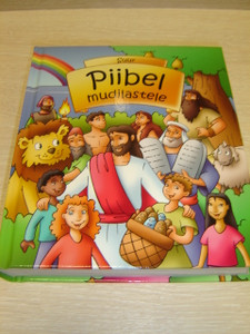Estonian My First Bible Storybook Children's Bible / Suur Piibel mudilastele