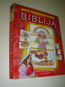 Lithuanian Children's Bible Activity Book for 3-8 year olds / Sumaisyk ir Vel Surink Biblija