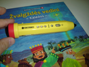 """Reading and Talking Pen to the Lithuanian Children's Bible Series - Touch and Read / Serija """"Maziems ir dideliems"""""""