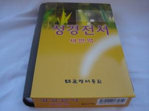Korean Holy Bible RNKSV Revised New Korean Standard Version / Vinyl Bound, Silver Edges