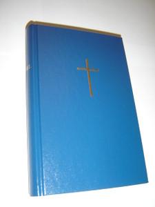 Estonian Bible / Blue Hardcover with Golden Cross / Piibel Vana Ja Uus Testament