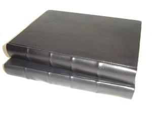 Syriac Modern Bible in Black Leather Binding with Golden Edges / Large MO83 Size